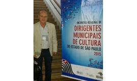 Robertinho Mori participou do encontro regional de dirigentes municipais de cultura